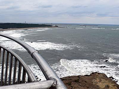 犬吠埼灯台からの眺め