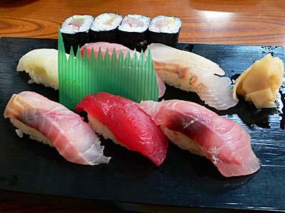 小田原 だるま料理店 の 相模湾寿司