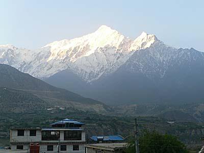 ネパール ジョムソン 景色