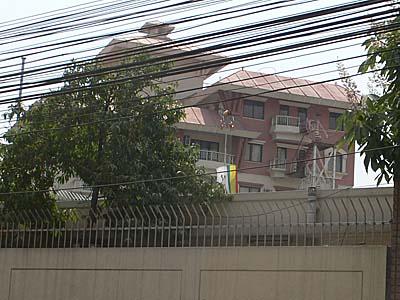 在ネパール日本大使館 外観