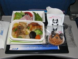機内食が美味しくて感激したANA虹橋線について