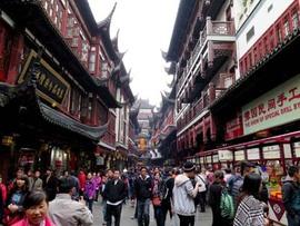 上海の観光地巡り:豫園と外灘