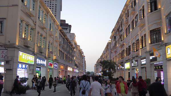 中国厦門の中山路