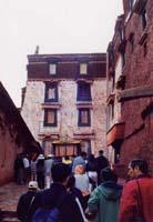 ポタラ宮入り口