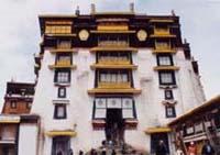 ポタラ宮の一部