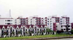 中山の新興住宅地