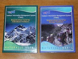ネパールトレッキング:アティティツアーズでTIMSとアンナプルナ保護区入域証取得。