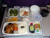 マレーシア航空成田-クアラルンプール機内食 鶏肉ご飯