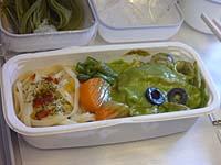 マレーシア航空成田-クアラルンプール機内食 洋食