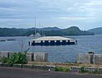 大型船用の桟橋