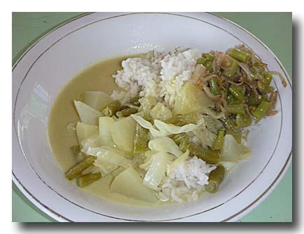 冬瓜のココナッツスープ煮