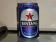ビンタンビールのノンアルコール。