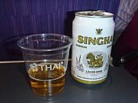 タイ航空 シンハビール