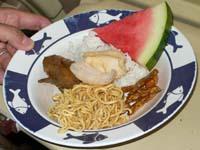 ビュッフェの軽食2