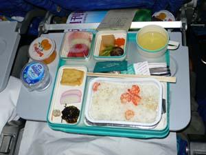 ガルーダインドネシア航空ジャカルタ-成田機内食
