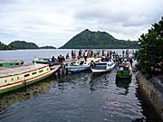 バンダネイラの埠頭