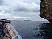 バンダベサールの横を抜けてハッタ島を目指す