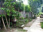 アイ島の砦の外壁2