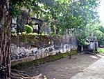 アイ島の砦の外壁