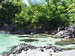 グヌンアピの北の小島