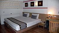バンコクブティックホテルの部屋1