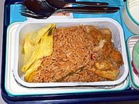 ガルーダ ジャカルタ-マカッサル機内食2