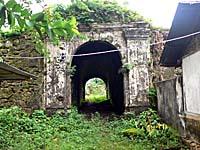 オランダ統治時代の砦