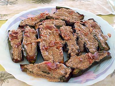 揚げ茄子のケナリソース:テロンゴレンサウスケナリ