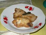 白身魚のナツメグソイソース