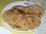 キャッサバ芋のパンケーキ