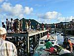 バンダネイラの桟橋