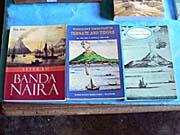 バンダ島の歴史が書かれた本
