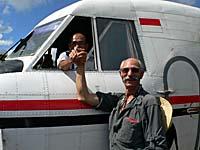 機長とアメリカ人のじいさん