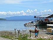 tulehu marketの港