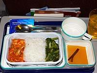 ガルーダ マカッサル-ジャカルタ機内食