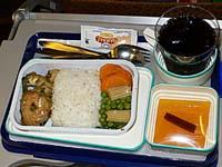 ガルーダ マカッサル-ジャカルタ機内食2