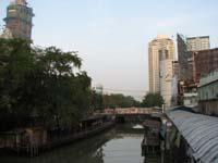 運河ボートプラトゥーナム乗船場