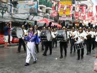 ソンクラーンのパレード!