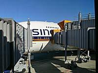 シンガポール航空:A380搭乗口が3つある