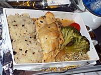 シンガポール航空:シンガポール-バンコク機内食