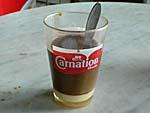 コンデンスミルクコーヒー