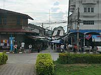 国道側からサムチュック100年市場の入り口