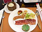 ラマダプラザホテルの朝食の一例