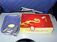 中国南方航空 大連-長春線の午前便機内食