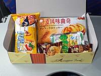 中国南方航空 長春-大連線の午前便機内食2
