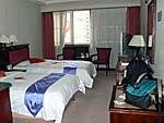 ティアンジホテルの客室