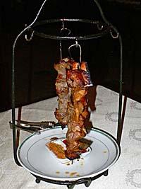 コサック風串焼き:シャシリク