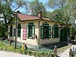 コサック風情古鎮の建物2