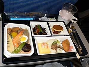 ANA成田-廈門機内食 和食
