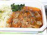 洋食の茸ハンバーグ